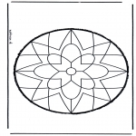 Basteln Stechkarten - Stechkarte 9