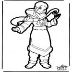 Basteln Stechkarten - Stechkarte Avatar