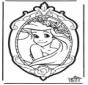 Stechkarte Disney Prinzessin 1