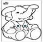 Stechkarte Elephant 2