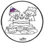 Stechkarte Geburtstag