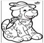 Stechkarte Hund 1