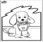 Stechkarte Hund 2