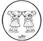 Stechkarte - Mädchen
