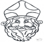 Stechkarte Maske 11