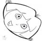 Stechkarte Maske 16