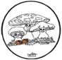Stechkarte Pilze