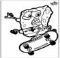 Stechkarte SpongeBob