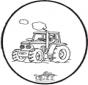 Stechkarte Traktor