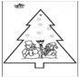 Stechkarte Weihnachten 2