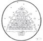 Stechkarte Weihnachtskalender