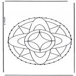 Basteln Stickkarten - Stickkarte 3