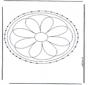 Stickkarte Mandala 2