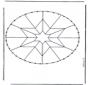 Stickkarte Mandala 5