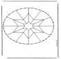 Stickkarte Mandala 8