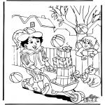 Basteln Stechkarten - Suche 10 Bälle