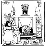 Basteln Stechkarten - Suche 10 Pieterchen