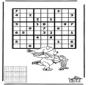 Sudoku Schlittschuhlaufen