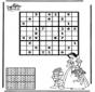 Sudoku Schneewittchen