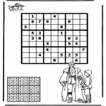 Malvorlagen Basteln - Sudoku Star Wars