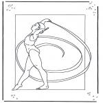 Allerhand Ausmalbilder - Tanzen 1