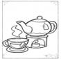 Tee und Tassen