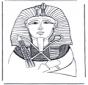 Totenmaske von Pharao