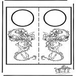Malvorlagen Basteln - Türhänger 6