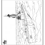Allerhand Ausmalbilder - U-Boot