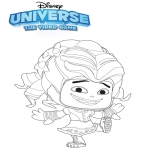Ausmalbilder Comicfigure - Universe: the video game 1