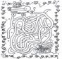 Unterwasserlabyrinth