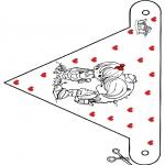 Ausmalbilder Themen - Valentin 9