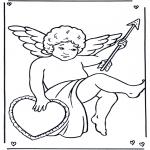Ausmalbilder Themen - Valentin Cupido