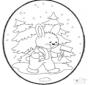 Weihnachten Stechkarte 18