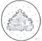 Weihnachts Stechkarte 1