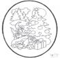 Weihnachts Stechkarte 12