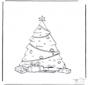 Weihnachtsbaum verziert