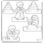 Weihnachtskrippe basteln 2