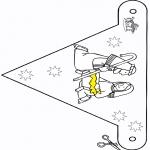 Ausmalbilder Weihnachten - Weihnachtskrippe - Fänchen