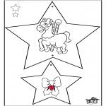 Ausmalbilder Weihnachten - Weihnachtsschmuck 3