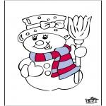 Malvorlagen Winter - Winter 16