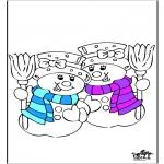 Malvorlagen Winter - Winter 20