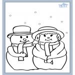 Malvorlagen Winter - Winter 5