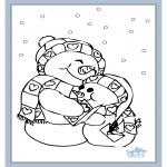 Malvorlagen Winter - Winter 6