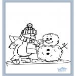 Malvorlagen Winter - Winter 7