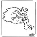 Ausmalbilder Comicfigure - Winx Club 24