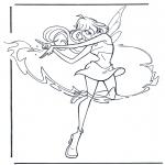 Ausmalbilder Comicfigure - Winx Club 4