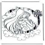 Ausmalbilder Comicfigure - Winx Club 5