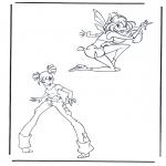 Ausmalbilder Comicfigure - Winx club 7