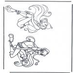Ausmalbilder Comicfigure - Winx club 8